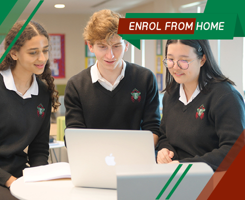 Enrol from home